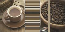 Dekoracja ścienna Paradyż Vivida Bianco inserto caffe A 30x60