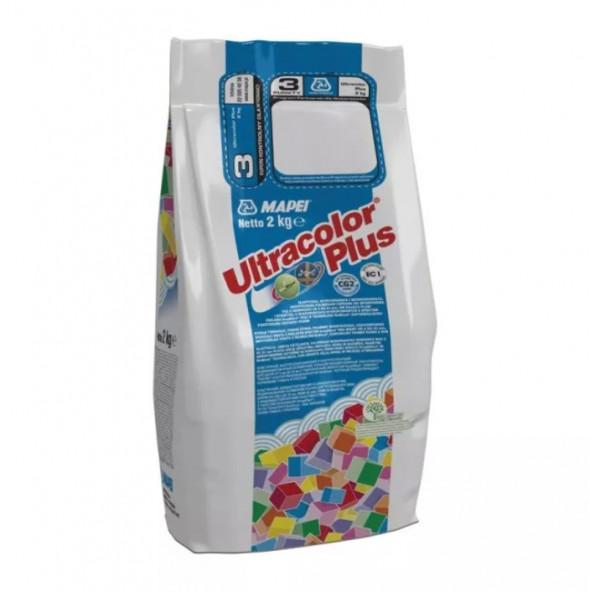 Fuga Mapei Ultracolor Plus 2 kg, 144 Czekolada