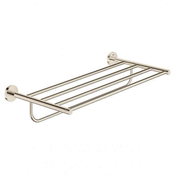 GROHE Essentials - półka z wieszakiem na ręczniki  polished nickel  40800BE1