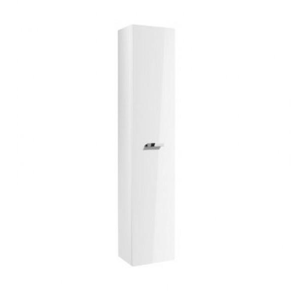 Kolumna wysoka obustronna Roca Victoria Basic 150x30 cm z 4 półkami, Biały połysk A856577806