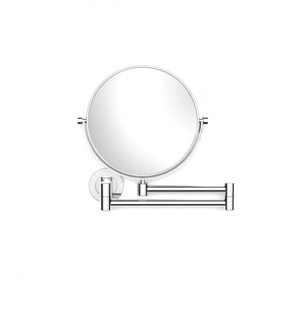 Lusterko kosmetyczne proste Stella powiększ. 3X, uchylne, podwójne ruchome ramię Stella chrom 22.01130 _