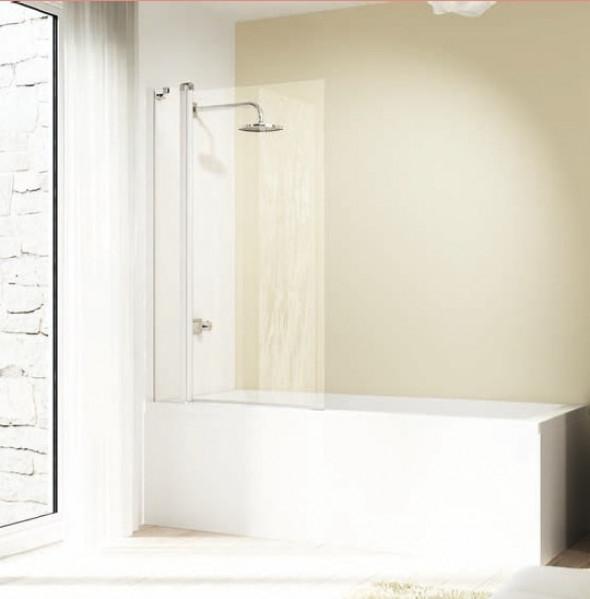 Parawan nawannowy Huppe Design elegance 2-częściowy 95cm 8E2001.087.322 Anti-plaque