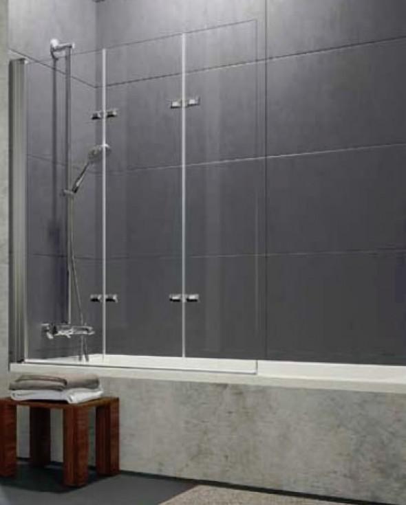 Parawan nawannowy Huppe Design pure 3-częściowy Lewy 120cm 8P6501.087.321