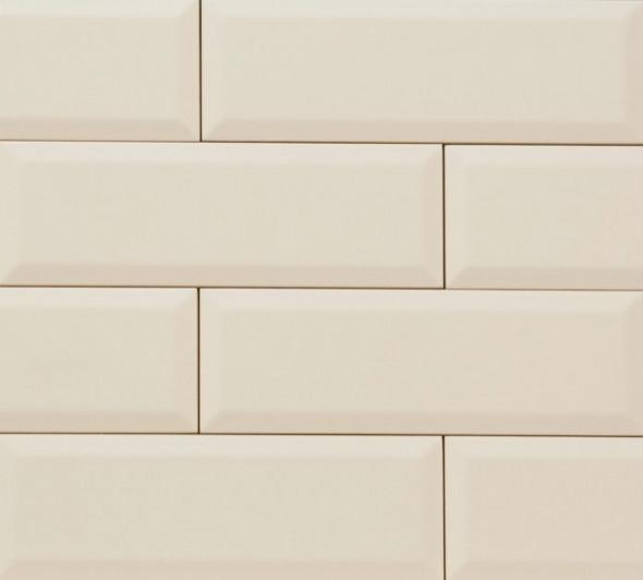 Płytka ścienna Tubądzin Elementary Ivory Bar 23,7x7,8cm