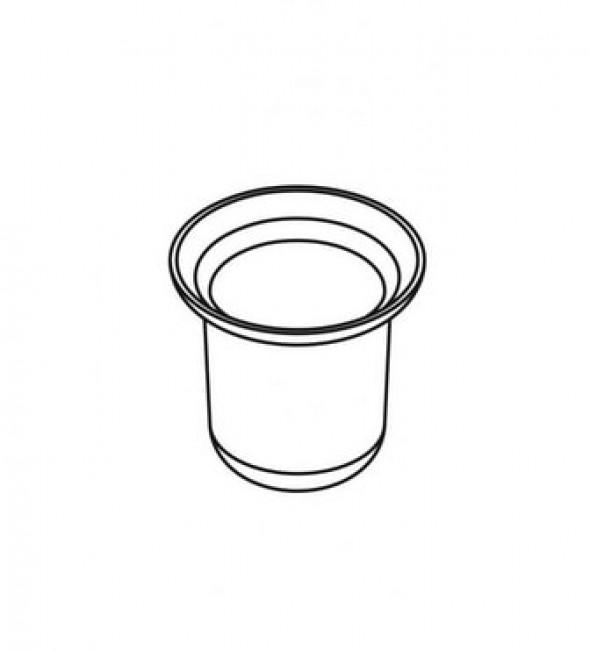 Pojemnik szklany do szczotki wc 07.430 Stella Classic 80.005