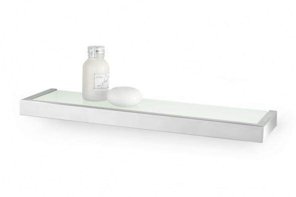 Półka łazienkowa szklana ZACK LINEA 46cm 40384
