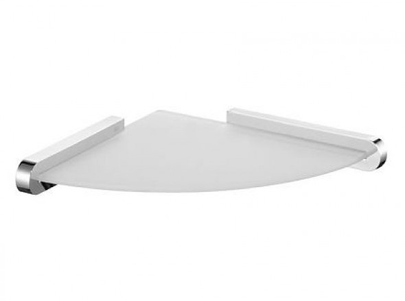 Półka narożna Bisk Futura Silver 02984