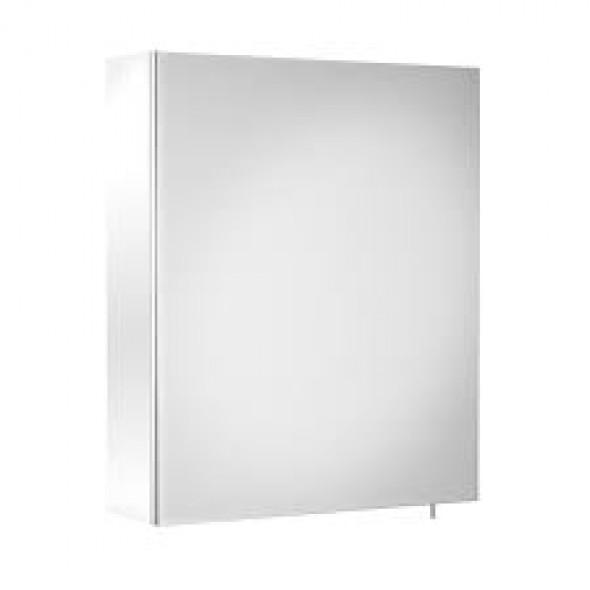 Szafka łazienkowa z lustrem Roca Debba / Luna 50x60 cm, Biały połysk A856840806