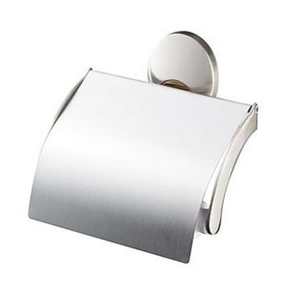 Uchwyt na papier WC z klapką Bisk Passion 03573