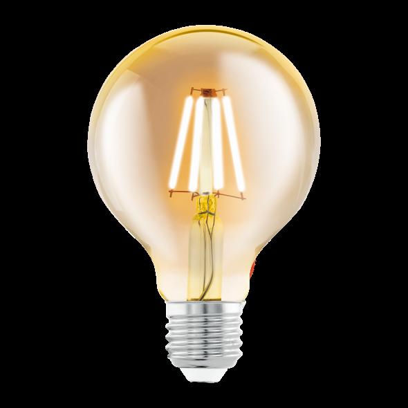 Eglo 11556 Żarówka Vintage Edison 4W Led E27 Ciepła biała barwa 2200K 320lm