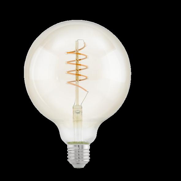 Eglo 11683 Żarówka Vintage Edison 4W Led E27 Ciepła biała barwa 2200K 260lm