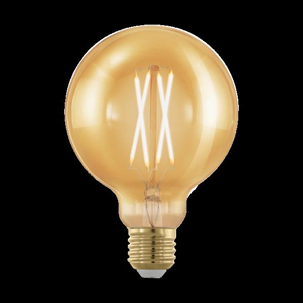 Eglo 11693 Żarówka Vintage Edison 4W Led E27 Ciepła biała barwa 1700K 320lm