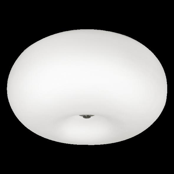 Eglo 86812 Optica 2x60W Plafon sufitowy biały