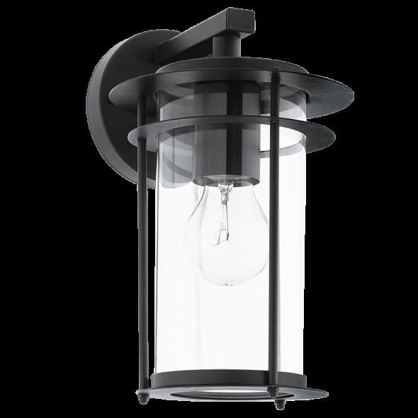 Eglo 96239 Valdeo 1x60W IP44 Lampa zewnętrzna czarny