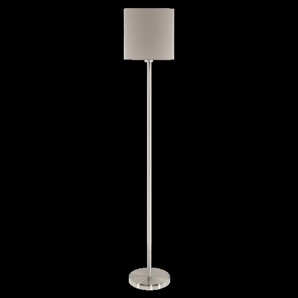 Eglo Pasteri 95167 Lampa stojąca podłogowa 1x60W brąz beż taupe