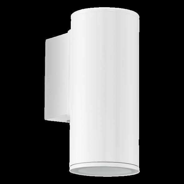 Eglo Riga 94099 Lampa zewnętrzna Oprawa ścienna do ogrodu Elewacyjna tuba outdoor 1x3W LED biała