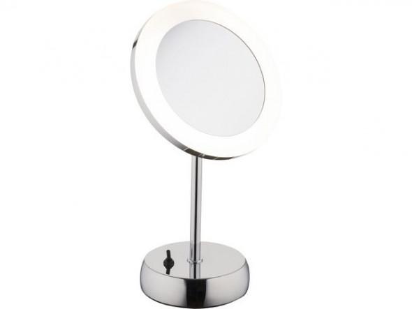 Nowodvorski Makeup Led 9504 Lampa lusterko łazienkowe do makijażu 1x3W LED IP44chrom