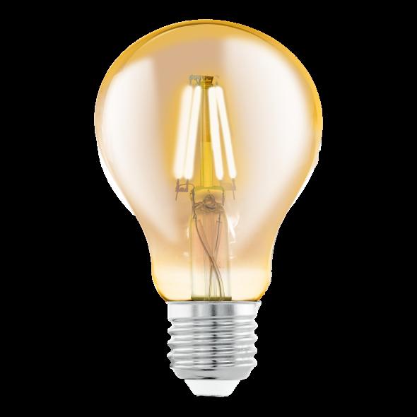 Żarówka LED 4W E27 Eglo Vintage Edison A75 dekoracyjna 11555