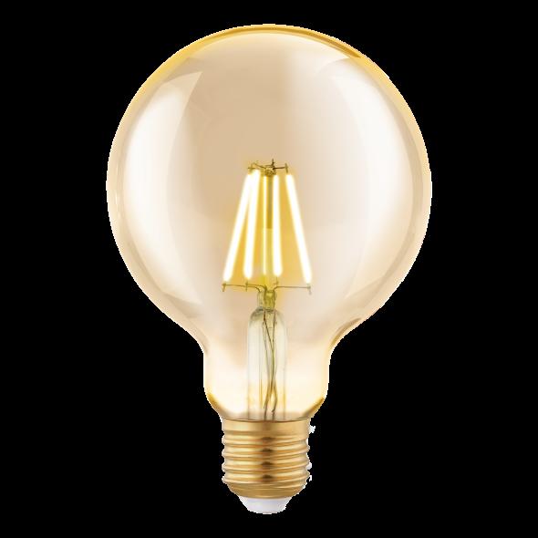 Żarówka LED 4W E27 Eglo Vintage Edison G95 dekoracyjna 11522
