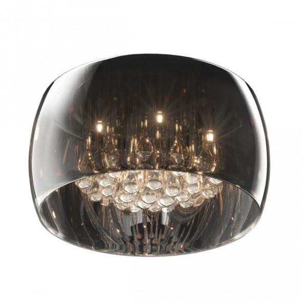 Zuma Line Crystal C0076-05L-F4FZ Plafon z kryształkami chrom
