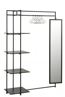 Garderoba Rack czarna