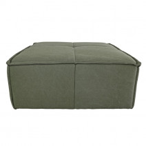 Hoker/podnóżek do sofy Cube leśny zielony
