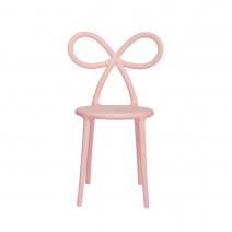 Krzesło Ribbon różowy mat