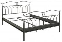 Łóżko Line czarne 140x200