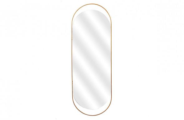 Lustro Sanou owalne rozmiar XL antyczny mosiądz