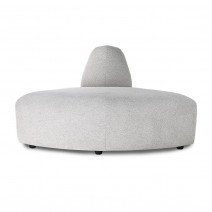 Sofa Jax: element do sofy, jasnoszary