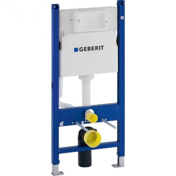 Geberit Duofix do wiszących misek WC, 112 cm, ze spłuczką podtynkową Delta 12 cm 111.153.00.1