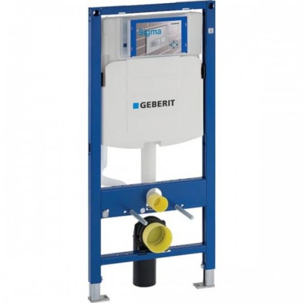 Geberit Duofix do wiszących misek WC, 112 cm, ze spłuczką podtynkową Sigma 12 cm 111.320.00.5