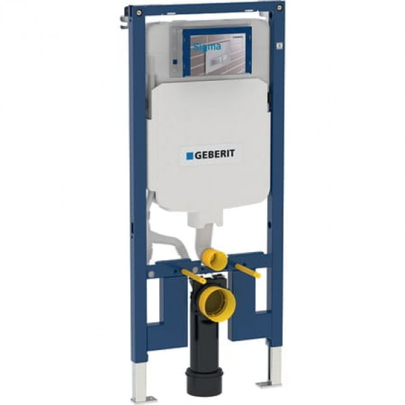 Geberit Duofix do wiszących misek WC, 114 cm, ze spłuczką podtynkową Sigma 8 cm 111.796.00.1