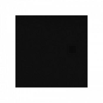 New Trendy Brodzik MORI posadzkowy B-0402 czarny 90x90x3