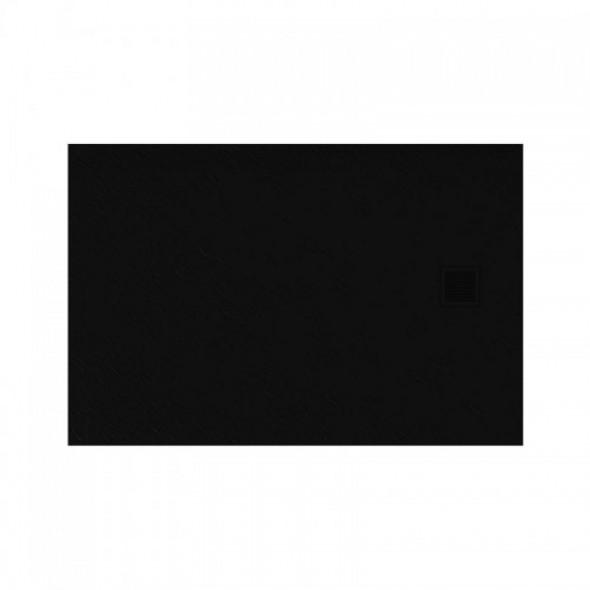 New Trendy Brodzik MORI posadzkowy B-0403 czarny 100x80x3