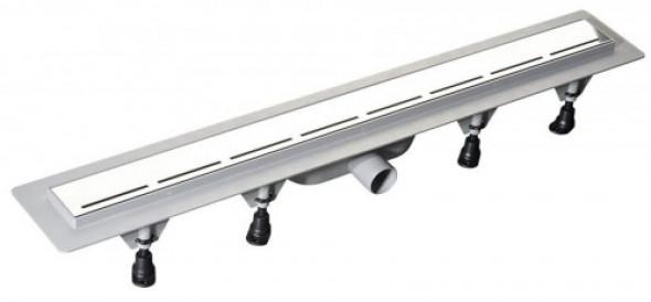 Polysan ROAD odpływ liniowy plastikowy rusztem ze stali nierdzewnej, 920x123x68 mm 71675