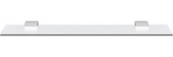 Sapho EVEREST półka szklana 600mm, chrom 1313-15