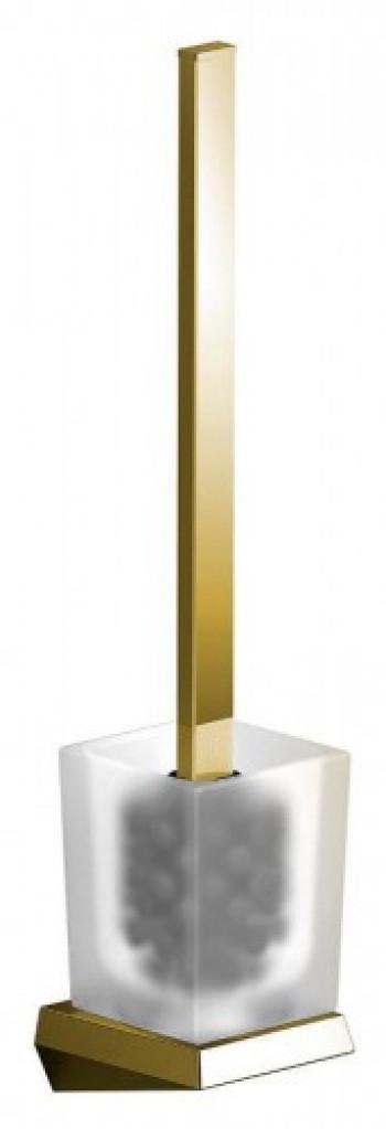 Sapho SOUL szczotka WC naścienna, złoto 164974
