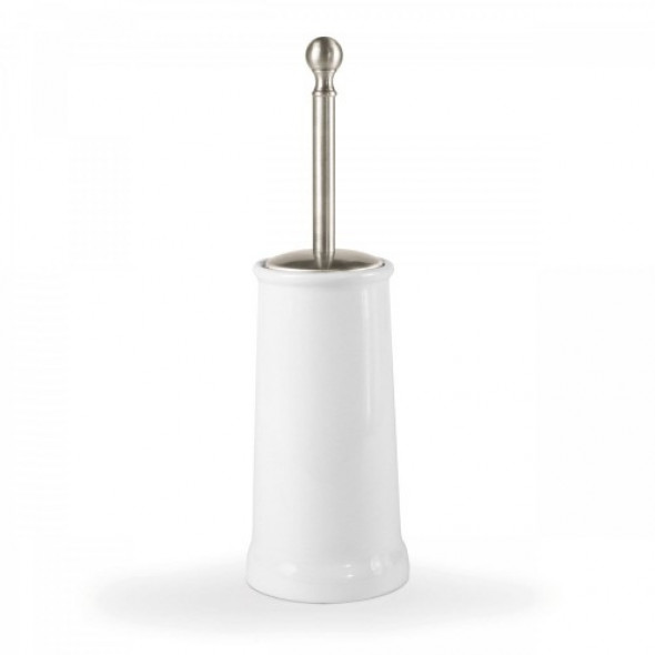 Tres clasic Naziemny ceramiczny pojemnik na szczotkę w kolorze stal 02463604AC