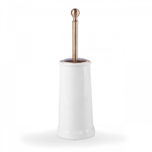 Tres clasic Naziemny ceramiczny pojemnik na szczotkę w kolorze stary mosiądz 5.24.636.04.51