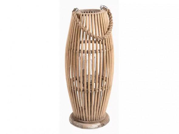 Garden Lampion bambusowy wysoki - Kolekcja Belldeco