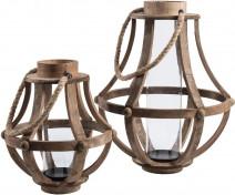 Garden Świecznik pękaty A  duży  - Kolekcja Belldeco