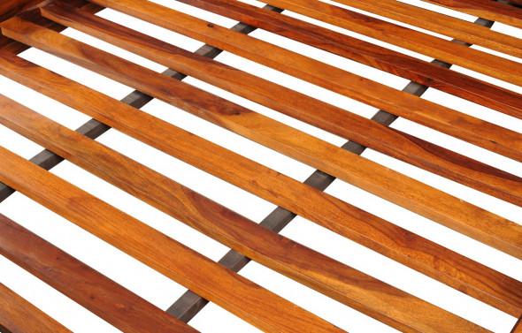 Klasyczne  łóżko z litego drewna COL-24 160X200 - Kolekcja COLONIAL