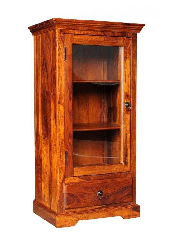 Kolonialna, mała witrynka z szufladą  COL-03 - Kolekcja Colonial