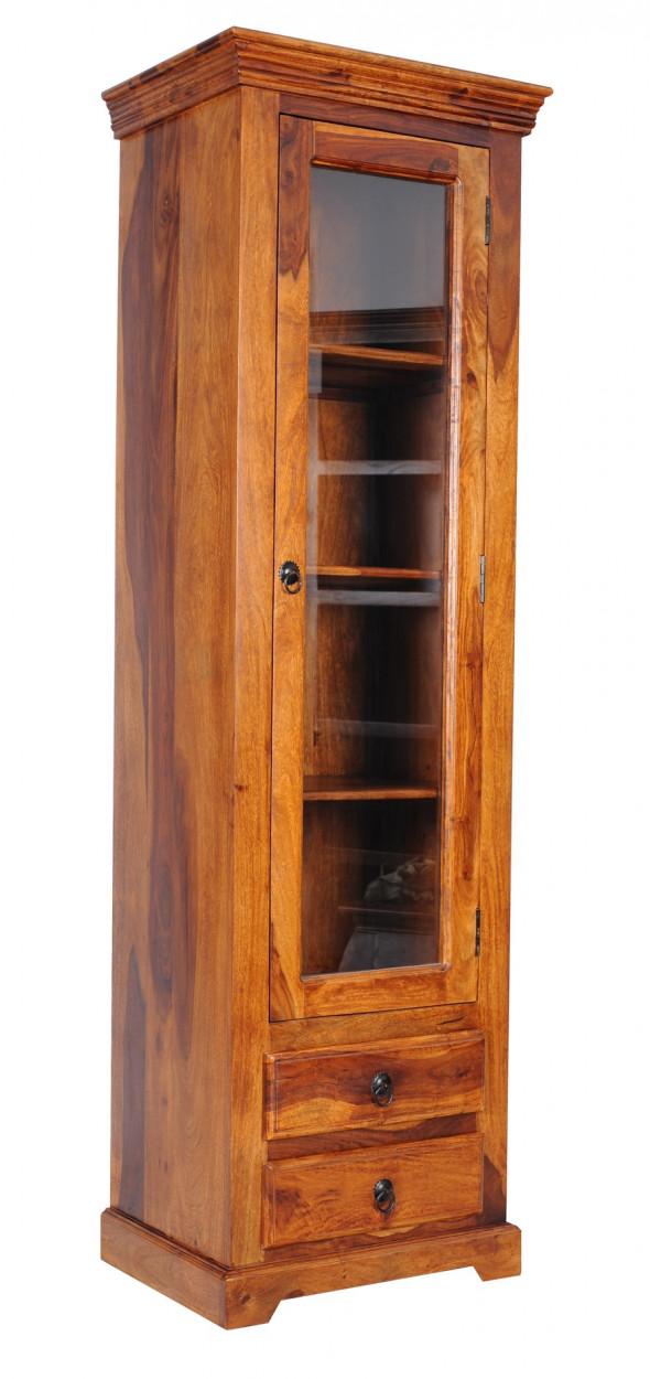 Kolonialna witrynka z szufladami  COL-10 - Kolekcja Colonial