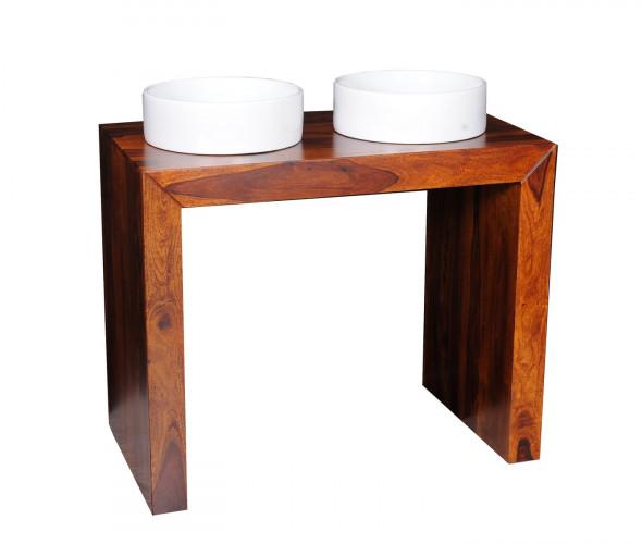 Konsola  łazienkowa z drewna palisandru  BATH 06 -Kolekcja Pure