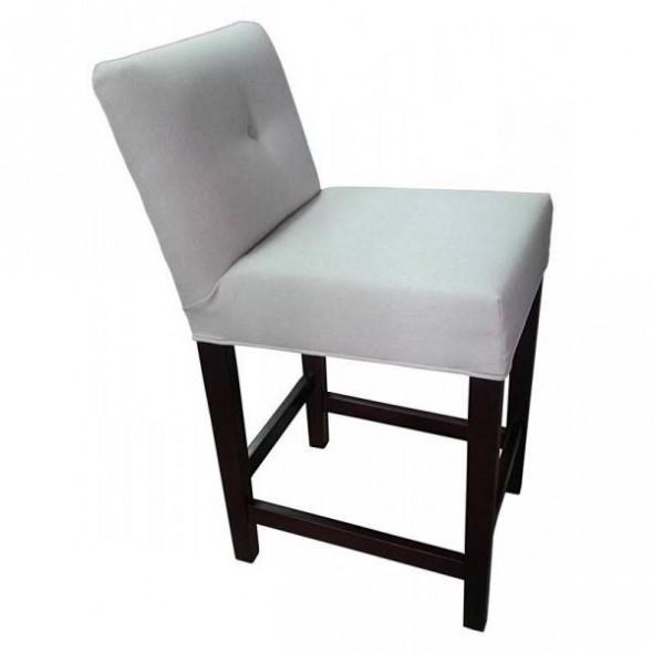 Krzesło barowe  tapicerowane KINGTON  - Kolekcja Chesterfield Grupa B