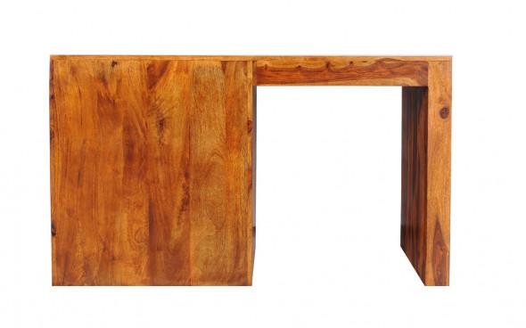 Nowoczesne biurko drewniane PU-37/130 - Kolekcja Pure