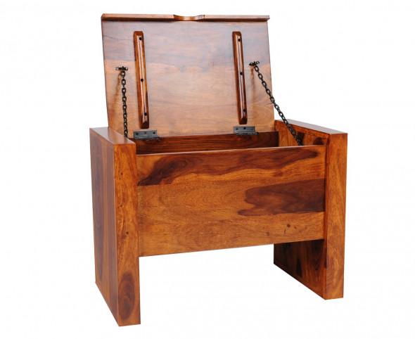 Skrzynia z litego drewna PU-21 -90  -Kolekcja Pure