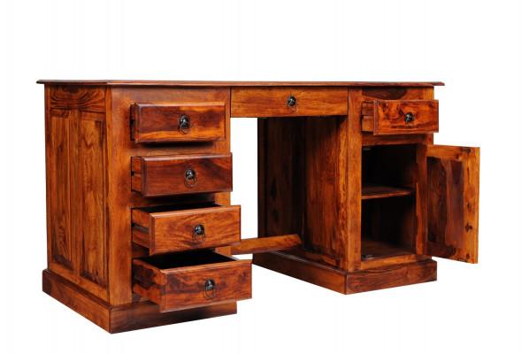 Stylowe biurko drewniane COL-22/150 -Kolekcja Colonial